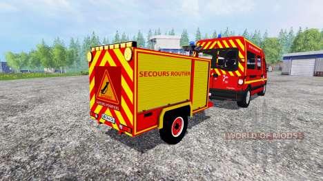 Remorque Secours Routier для Farming Simulator 2015