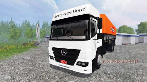 Mercedes-Benz Atego 2425 для Farming Simulator 2015