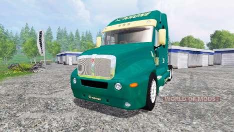 Kenworth T2000 [Krone] для Farming Simulator 2015