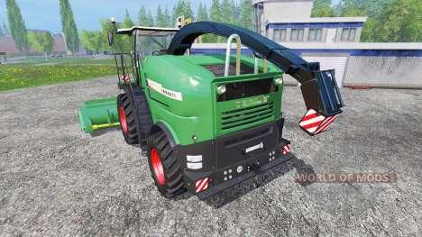 Fendt Katana 85 v1.1 для Farming Simulator 2015