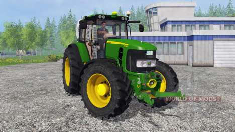 John Deere 7530 Premium для Farming Simulator 2015