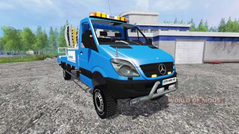 Mercedes-Benz Sprinter [nacelle sarens] для Farming Simulator 2015