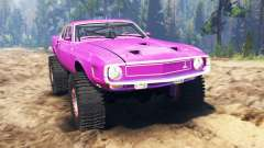 Ford GT500 1969 для Spin Tires