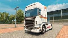 Скин Iberia на тягач Scania для Euro Truck Simulator 2