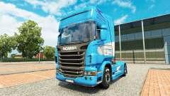 Скин Aerolineas Argentinas на тягач Scania для Euro Truck Simulator 2