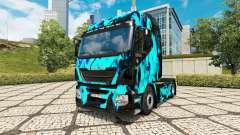 Скин Green Smoke на тягач Iveco для Euro Truck Simulator 2