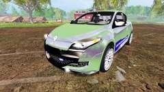 Renault Megane RS Gendarmerie для Farming Simulator 2015
