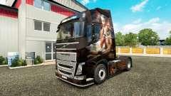 Скин Egypt Queen на тягач Volvo для Euro Truck Simulator 2