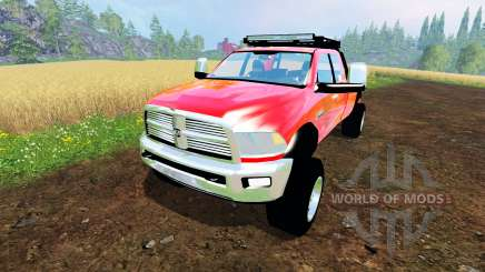 Dodge Ram 5500 Crew Cab для Farming Simulator 2015