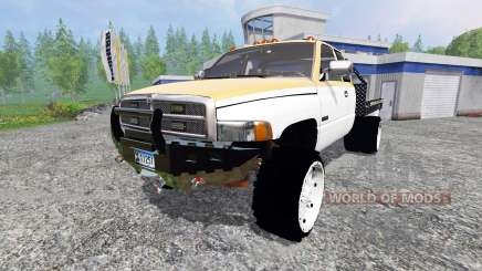 Dodge Ram 2500 [flatbed] для Farming Simulator 2015