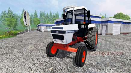 David Brown 1394 2WD для Farming Simulator 2015
