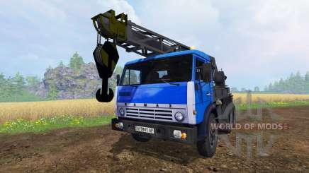 КамАЗ Кран для Farming Simulator 2015