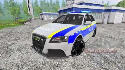 Audi RS3 Police для Farming Simulator 2015