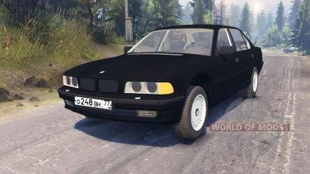BMW 750Li (E38) для Spin Tires