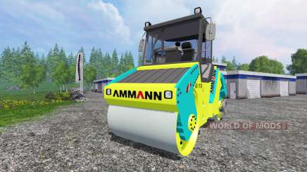 Ammann AV110X для Farming Simulator 2015