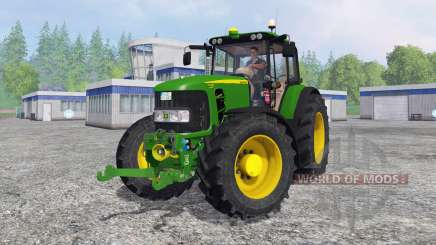 John Deere 7430 Premium для Farming Simulator 2015