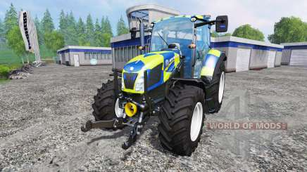New Holland T5.115 Police для Farming Simulator 2015
