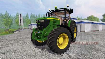 John Deere 6210R v2.0 для Farming Simulator 2015