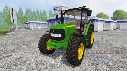 John Deere 5080R для Farming Simulator 2015