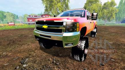 Chevrolet Silverado 2500 HD 2010 для Farming Simulator 2015