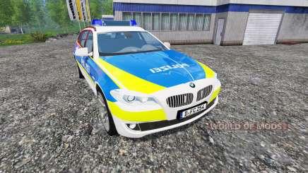 BMW 520d Dusseldorf Police для Farming Simulator 2015