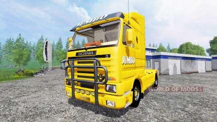 Scania 143M Jumbo для Farming Simulator 2015