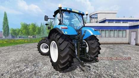 New Holland T6.175 v1.2.2 для Farming Simulator 2015