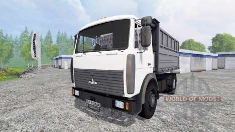 МАЗ-5551А2 v2.0 для Farming Simulator 2015