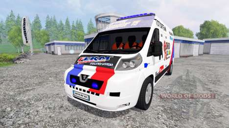 Peugeot Boxer [racing] для Farming Simulator 2015