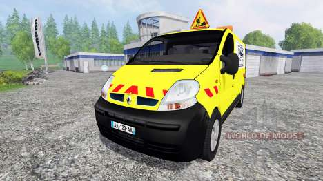 Renault Trafic [Pieter vd Linde] для Farming Simulator 2015