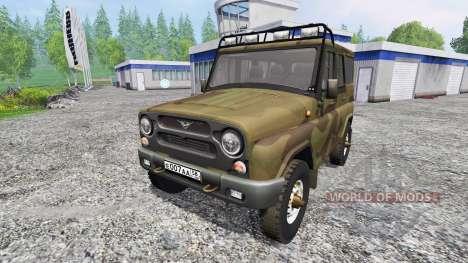 УАЗ-315195 Хантер для Farming Simulator 2015