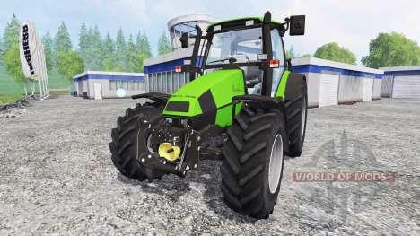 Deutz-Fahr Agrotron 120 Mk3 FL [washable] для Farming Simulator 2015
