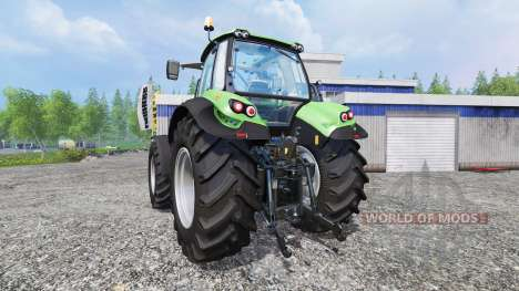 Deutz-Fahr Agrotron 7250 TTV [real engine] для Farming Simulator 2015