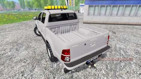 Toyota Hilux [convoi agricole] для Farming Simulator 2015