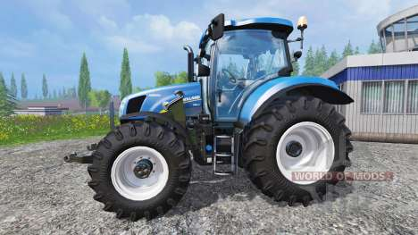 New Holland T6.160 [real engine] для Farming Simulator 2015