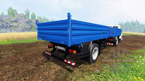 ГАЗ-САЗ-35071 [самосвал] для Farming Simulator 2015