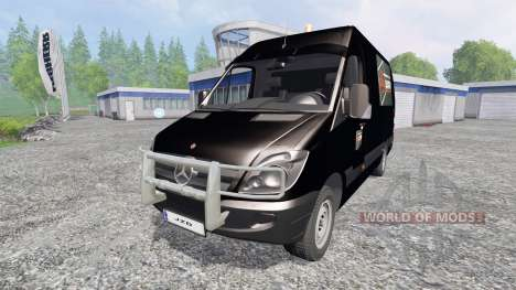 Mercedes-Benz Sprinter [Flexibouw] для Farming Simulator 2015