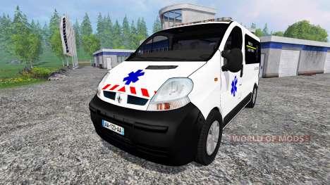 Renault Trafic Ambulance для Farming Simulator 2015