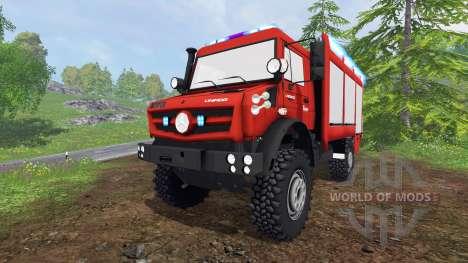 Mercedes-Benz Unimog U5023 [feuerwehr] для Farming Simulator 2015