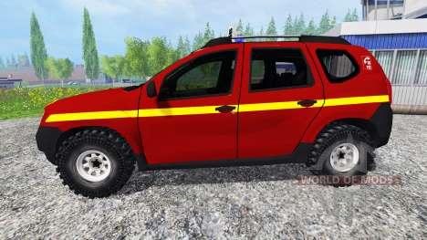Dacia Duster VLHR для Farming Simulator 2015