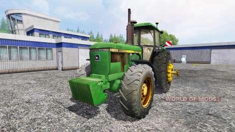 John Deere 4650 v2.0 для Farming Simulator 2015