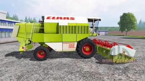 CLAAS Dominator 108SL [advanced] для Farming Simulator 2015