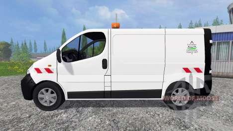 Renault Trafic ECV для Farming Simulator 2015