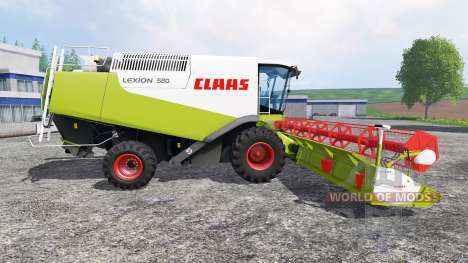 CLAAS Lexion 580 v1.6 для Farming Simulator 2015