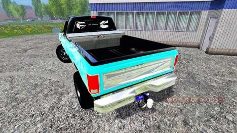 Dodge D-250 для Farming Simulator 2015