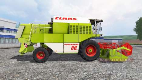 CLAAS Dominator 88S v1.1.1 для Farming Simulator 2015