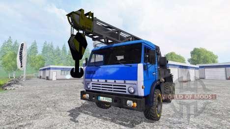 КамАЗ Кран v2.2 для Farming Simulator 2015