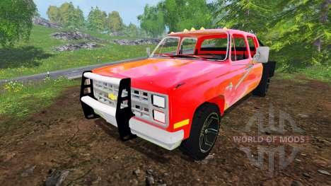 Chevrolet Silverado 1984 v2.0 для Farming Simulator 2015