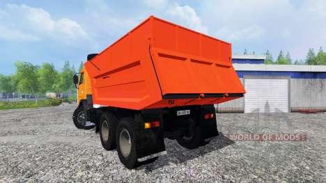 КамАЗ-55111 для Farming Simulator 2015