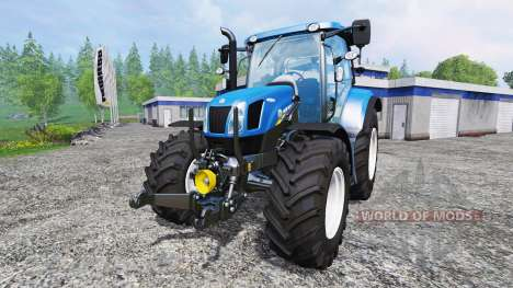 New Holland T6.160 [real engine] для Farming Simulator 2015